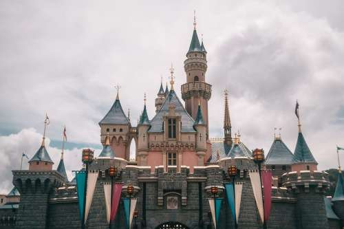 Castles Travel Pleasure Fantasy Landscape Castle