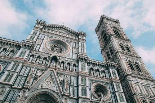 Cathedral Florence Europe Church Architecture