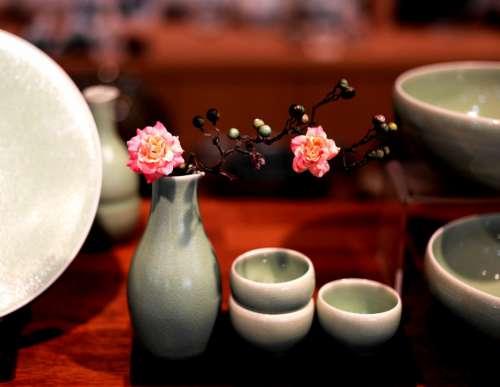 Ceramic Ware Porcelain Cup Tea Coffee Flower Hot