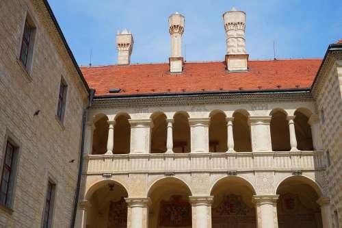 Chateau Castle Czechia Melnik Renaissance Palace