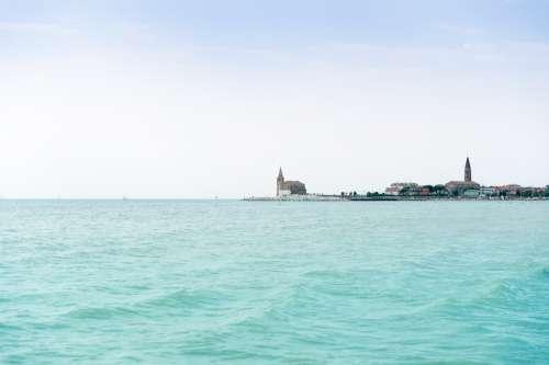 Church Sea Sky Travel Tourism Architecture