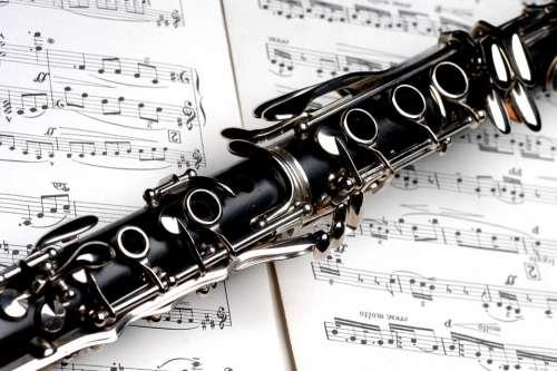 Clarinet Music Instrument Jazz Musical Sound