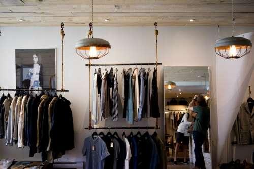 Clothing Store Shop Boutique Men'S Fashion Clothes