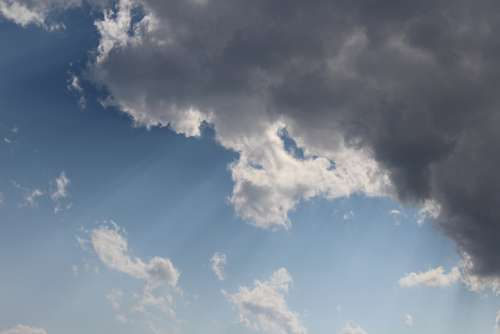 Clouds Day Picture Sky Summer Sunny Natural