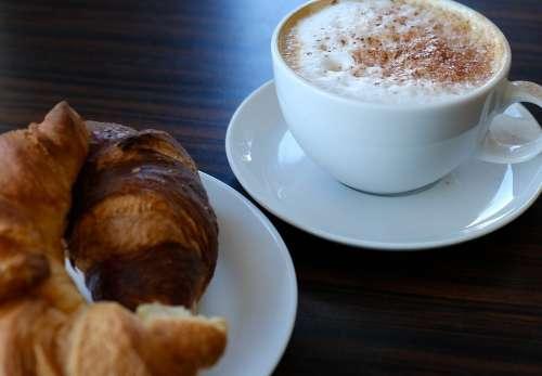 Coffee Breakfast Caffeine Cafe Café Au Lait