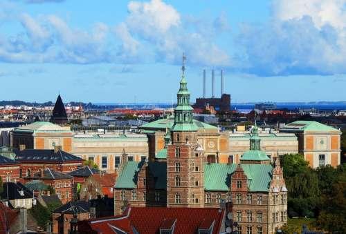 Copenhagen Denmark Panorama Architecture
