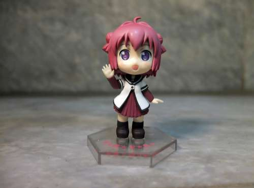 Cute Young Girl School Child Play Toy Figurine