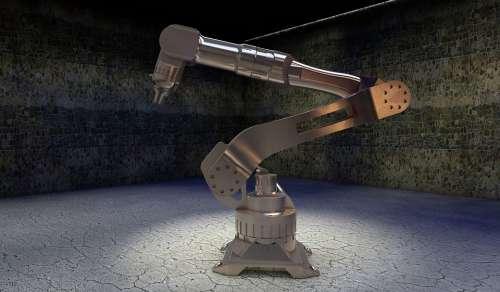 Cybernetics Robot Robot Arm Simulation Movement