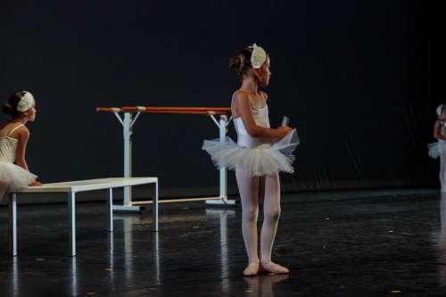 Dance Ballerina Dancer Scene Ballet Girl Child