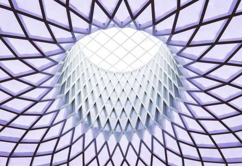 Diamonds Architecture Color Elegance