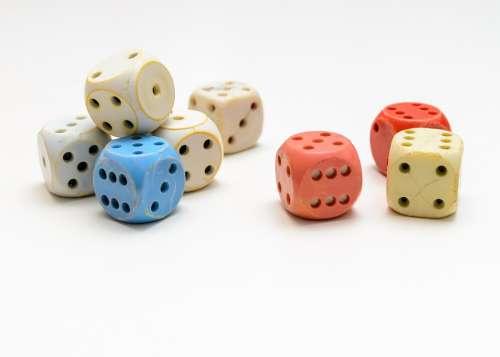 Dices Game Dice Gambling Luck Random Casino Play