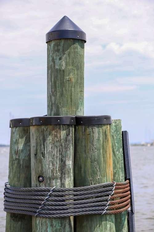 Dock Annapolis Chesapeake Bay Harbor Sailing Boat