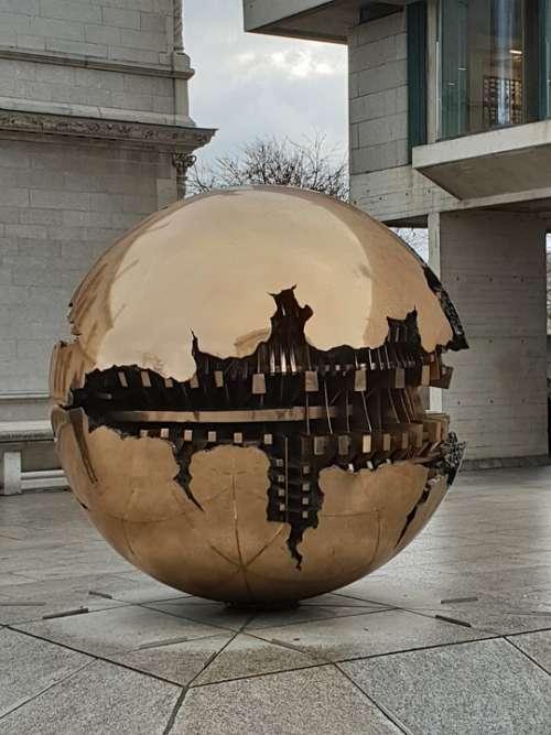 Dublin Ireland Architecture Trinity College Sphere