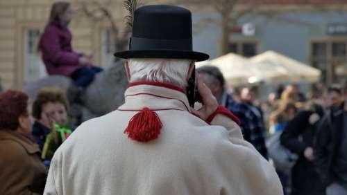 Easter Kraków Hat People The Crowd Street Walkway