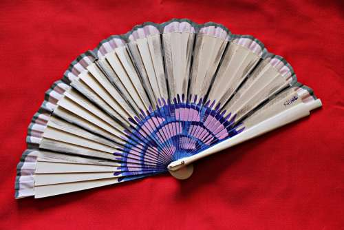 Fan Tradition Women Beauty Lady Heat Gift