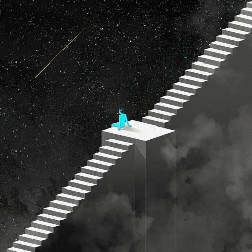 Fantasy Night Ladder Universe Stars