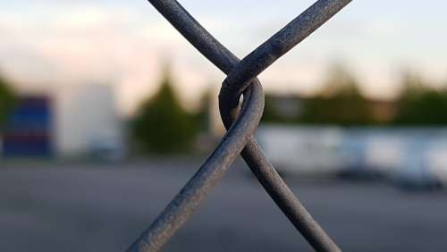 Fence Steel Tiefenunschäefw Metal Grid Wire