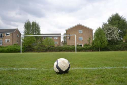 Football Goal Soccer Ball Sport Sports Grass