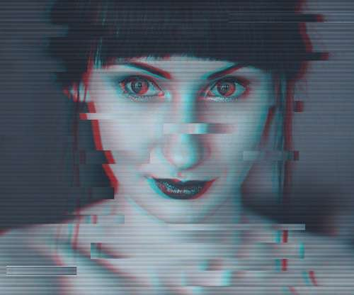Glitch Portrait Glitch Portrait Glitch Art