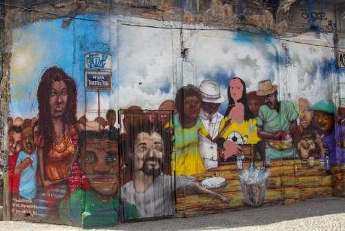 Graffiti Rio De Janeiro Brazilwood Street Art