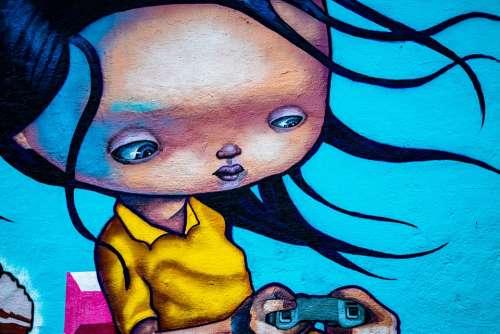 Graffiti Art Wall Colorful Norway