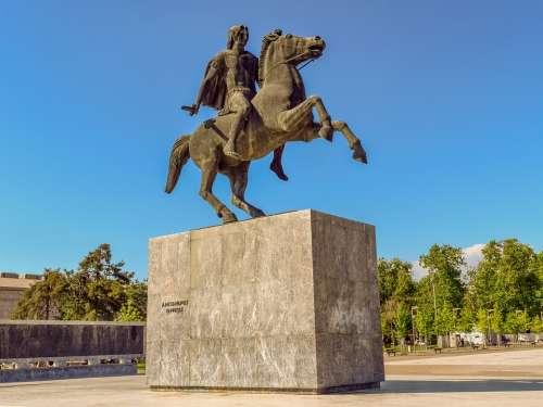 Greece Thessaloniki Alexander The Great Emperor