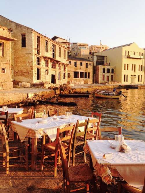 Greece Restaurant Mediterranean Vacations Sea Food