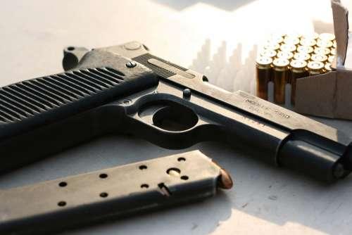 Gun Pistol Weapon Handgun Military Army Shot