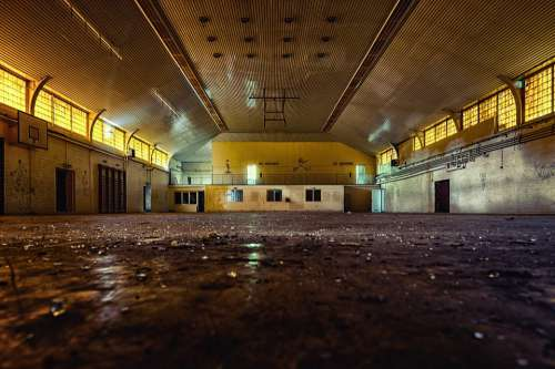 Hall Gym Lost Places Sport Abandoned Transience
