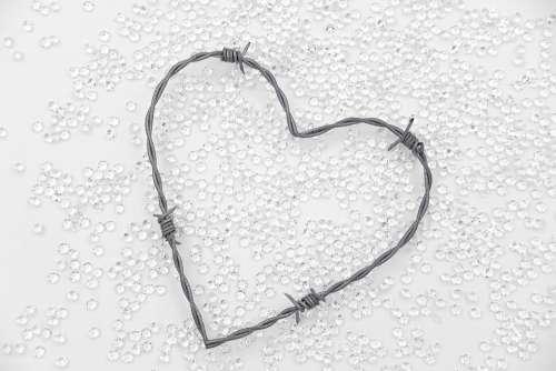 Heart Diamonds Love Romance Relationship