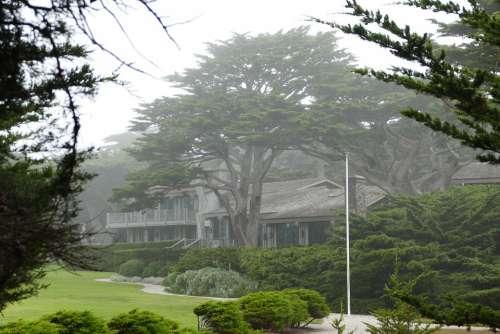 House Wood Monterey Spanish Bay California