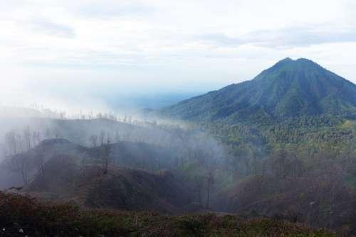 Indonesia Ijen Fog Dangerous Mine Workaholic