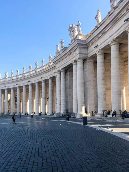 Italy Rome Vatican Architecture Pope Europe