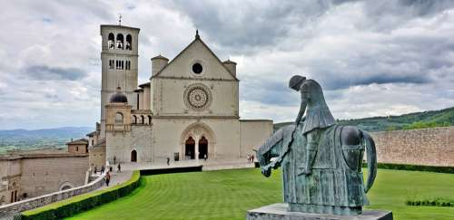 Italy Church Tuscany Landmark Europe Old Medieval