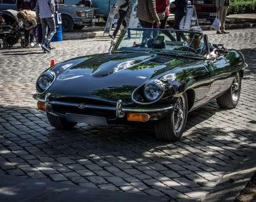 Jaguar E Type Classic Oldtimer Cabriolet Luxury