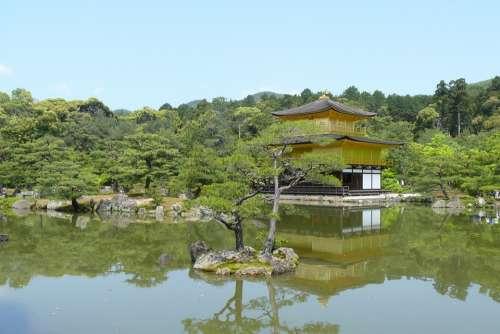 Japan Kyoto Temple Architecture Kinkakuji