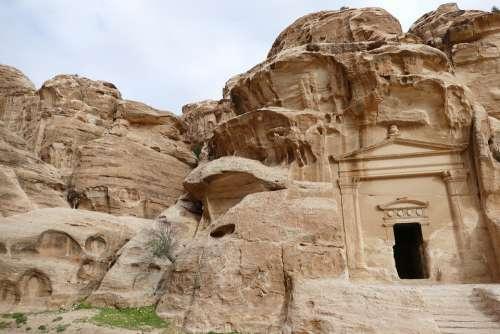 Jordan Petra Sand Stone Canyon Stone