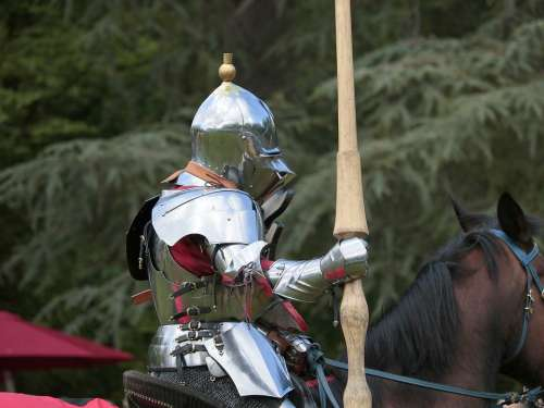 Knight Middle Ages Horse Armor Medieval The Story