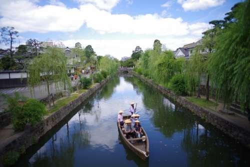 Kurashiki Japan Okayama Beauty Zone River