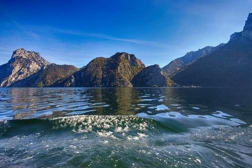 Lake Mountains Landscape Alpine Water View