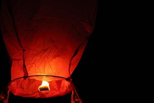 Lamp Night Lights Dark Candle Nature Sky Evening