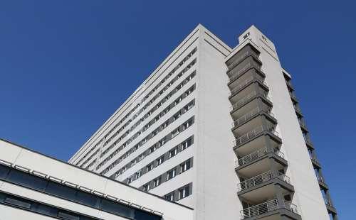 Latvia Liepaja Hospital Building Architecture High