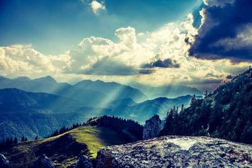 Light Hdr Landscape Nature Rural Sky Natural
