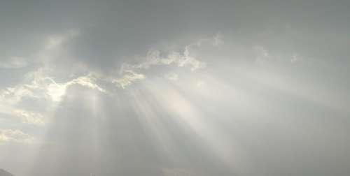 Light Beam Cloud Sky Clouds Nature Air Atmosphere
