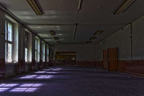 Lost Places Building Space Architecture Room