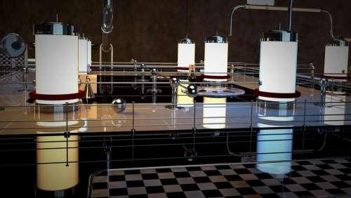 Machine Mechanics Pipe Technology Cylinder Ball