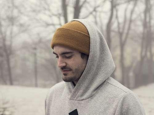Man Fog Fashion People Portrait Lonely Person