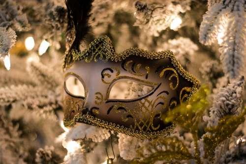 Mardi Gras Mask Costume Carnival Louisiana Holiday