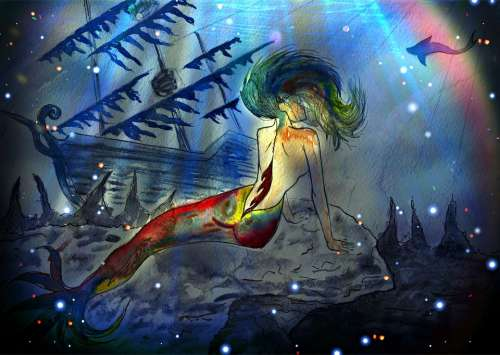 Mermaid Fantasy Story Mystic Fabulous Creatures