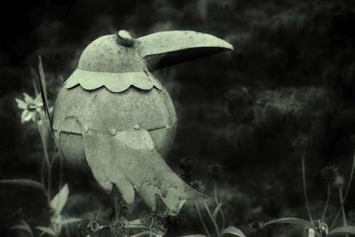 Metal Bird In The Gloom
